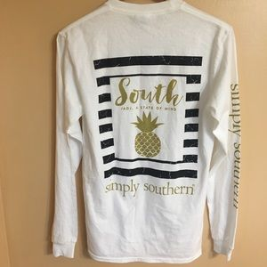 Simply Southern t shirt size small